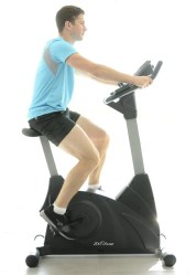 JTX Cyclo-5 Programmable Upright Gym Exercise Bike