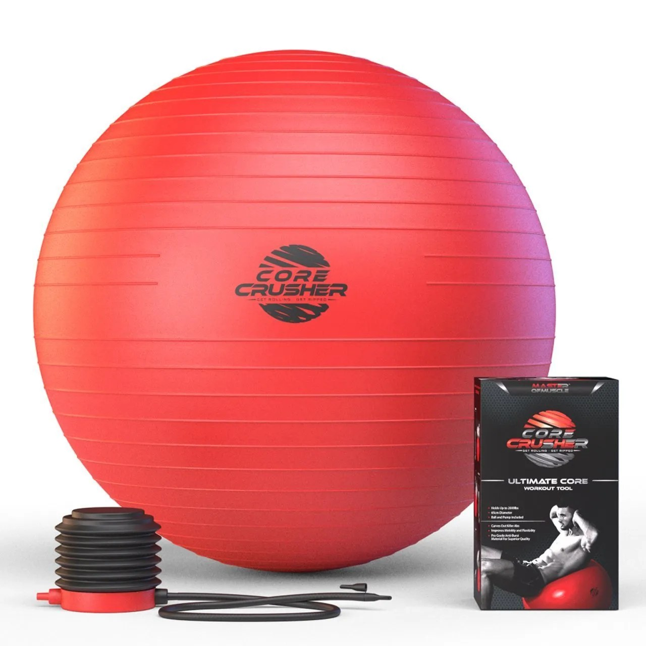 Fitness Swiss Ball 65cm with Pump