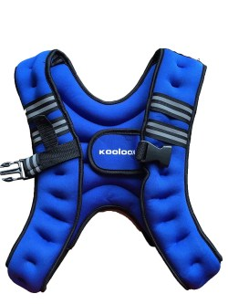 weighted exercise vest