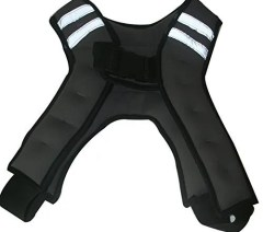 number 3 rated weighted exercise vest