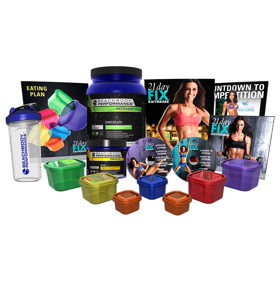 Pack Performance 21 Day Fix Extreme