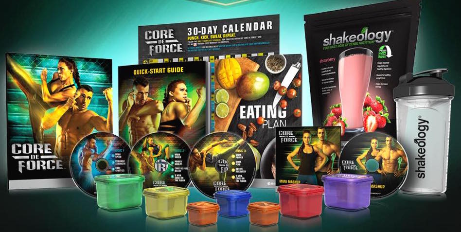Core de force + Shakeology en Challenge Pack