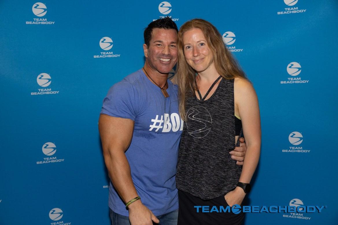 Sagy Kalev et Chantal Lavigne Fitness et moi
