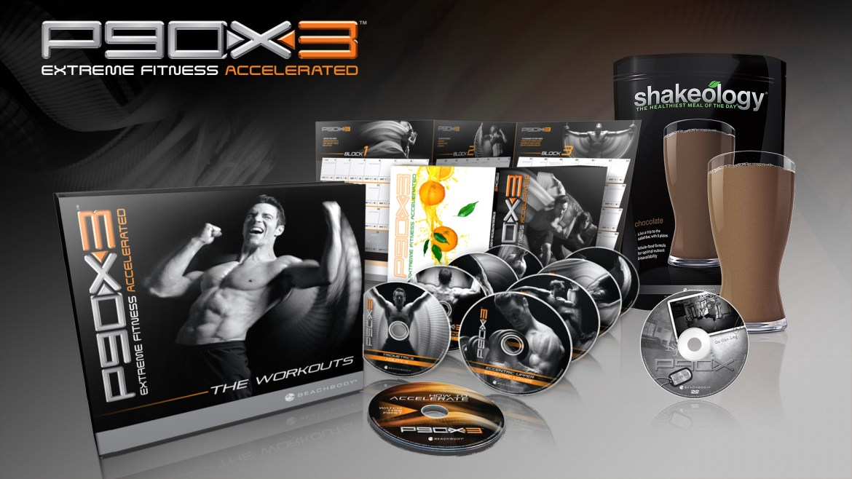 P90X3 + Shakeology en Challenge Pack