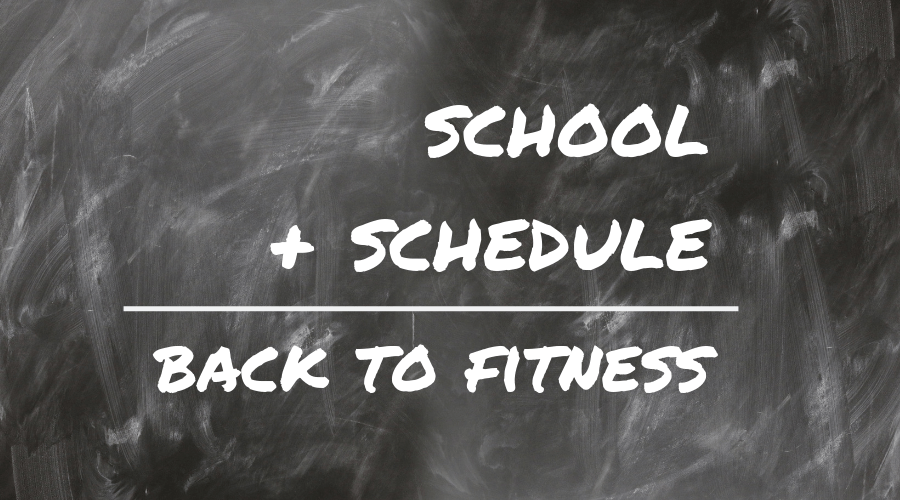 back to school fitness