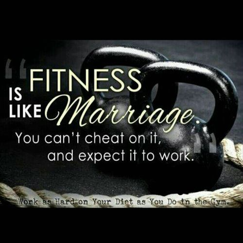 Fitness is like Marriage (Motivation Monday)