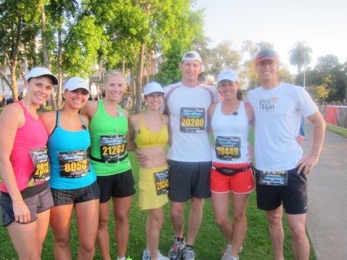Running My First Marathon With Friends!