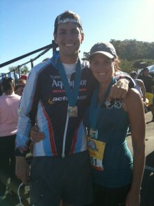 Carlsbad Half 2011 - Right Before P90X!