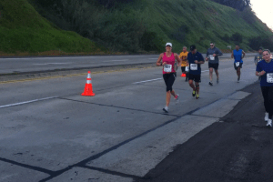 Running Up the Beast Hill!