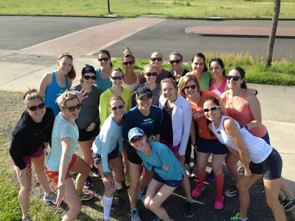 Blogger and Oiselle Team Meet Up in Eugene 2012