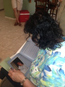 I finally got to give my mom her 60th birthday gift - a photo and memory book!