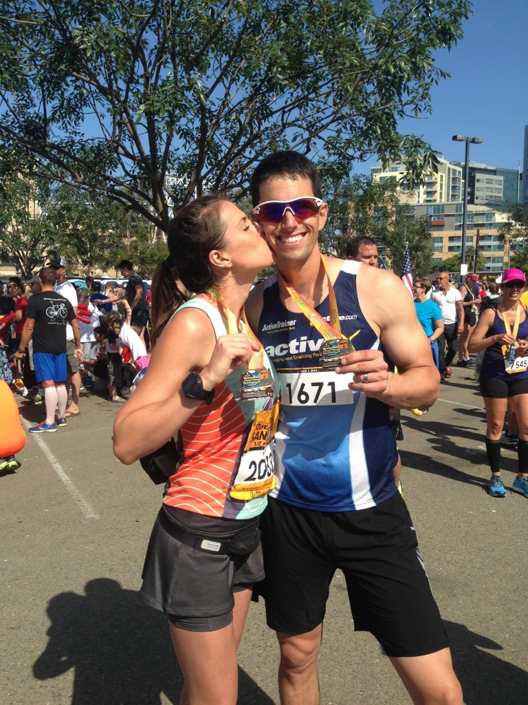 Post PR for both Mike and Me and at the 2014 San Diego Rock n' Roll Half Marathon