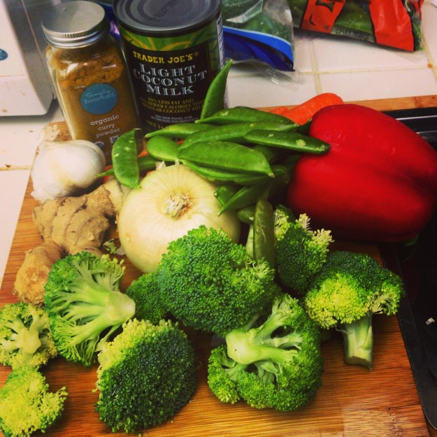 Makings of a Veggie Curry