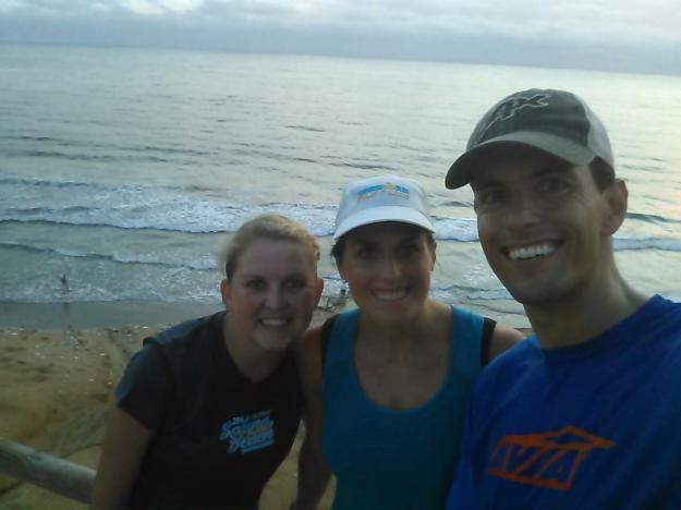 Torrey Pines with Brooke and Mike!