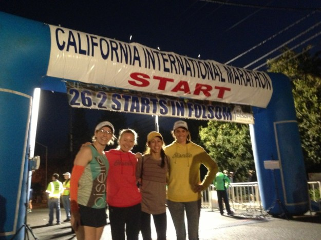 Fellow Oiselle Birds at the Start