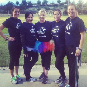 With my fellow Girls on the Run coaches