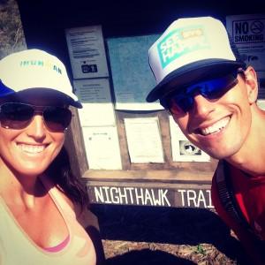 Valentine's Hike - 8 Weeks Pregnant