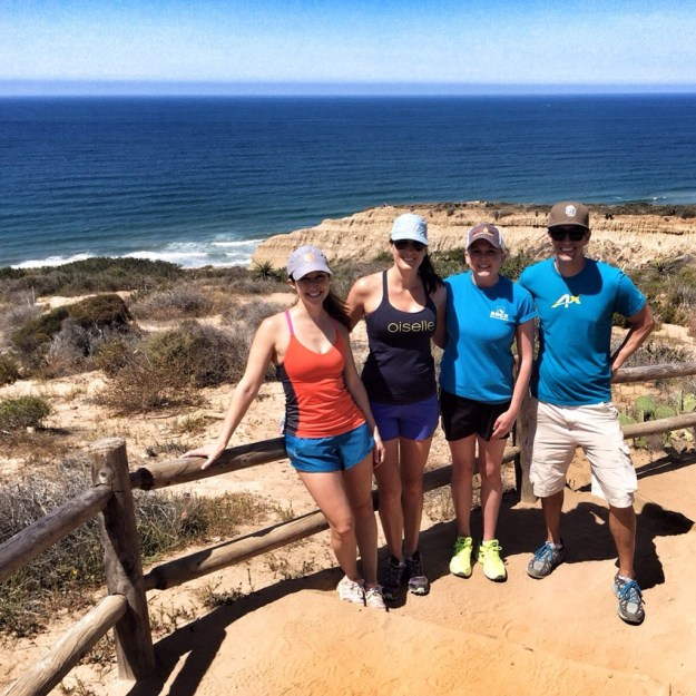Hiking Torrey Pines with friends last Sunday
