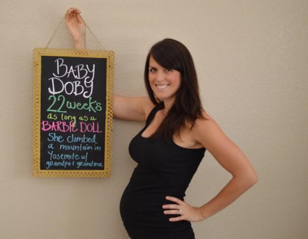 22 weeks pregnant photo