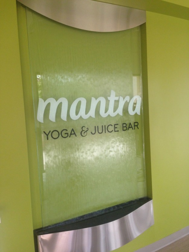 First time at Mantra Yoga and Juice Bar