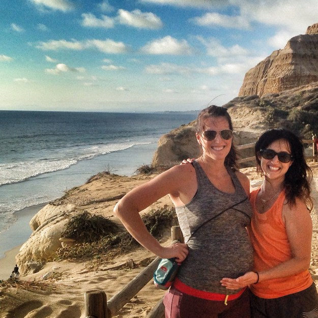 Torrey Pines hike with Asia last week - I made her join me for 290 squats along the way!