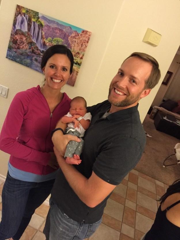 Aunt Claire and Uncle Josh visit!