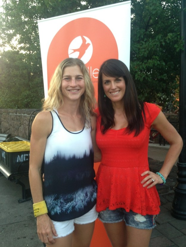 I met Lauren at Oiselle's running camp in 2014