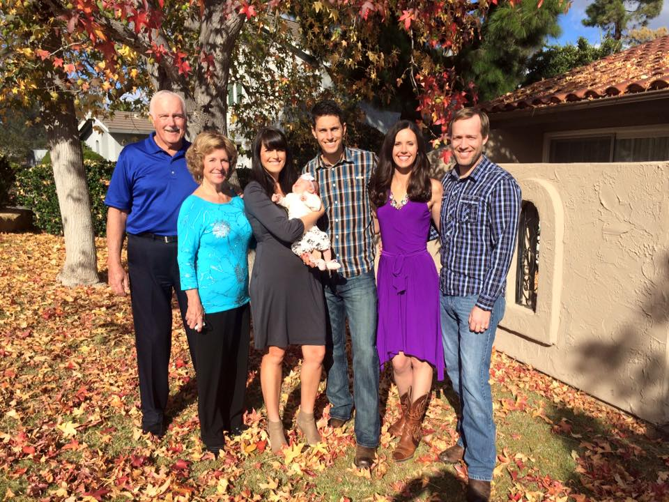 With Mike's Family on Thanksgiving