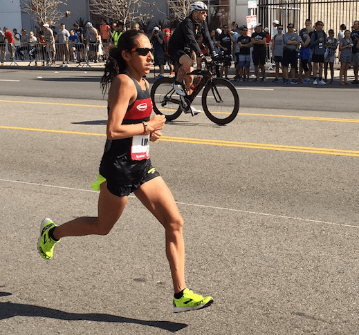 Second Place Finisher Desiree Linden