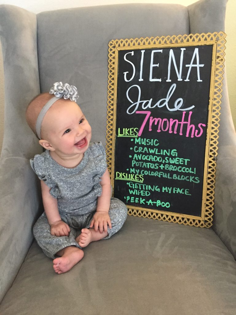 7 month old baby update
