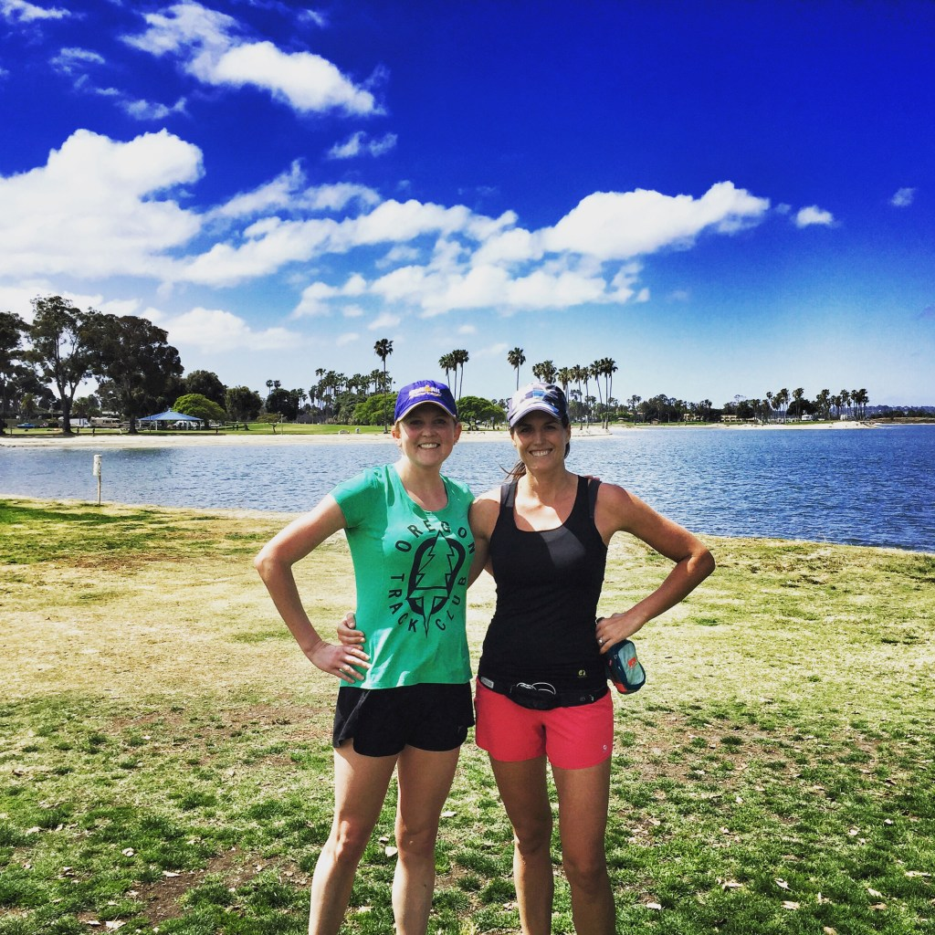 Mission Bay Long Run with Brooke