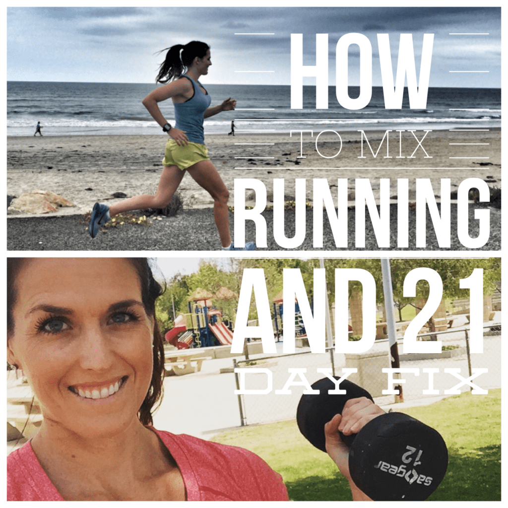 running and 21 day fix