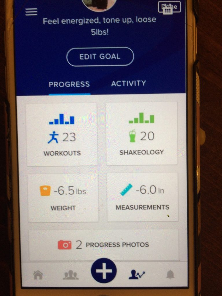 Track your progress and get daily accountability using the My Challenge Tracker app