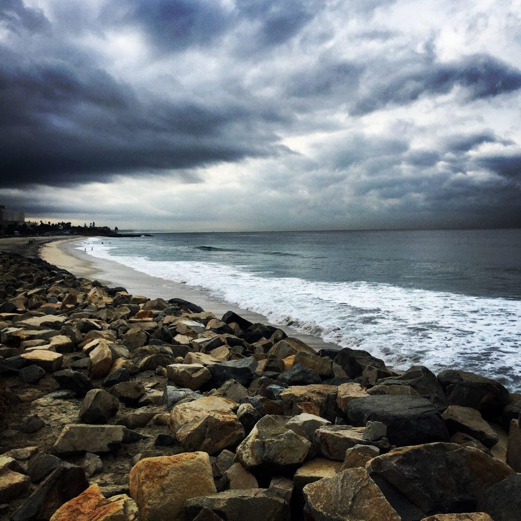 Stormy coastal run Saturday