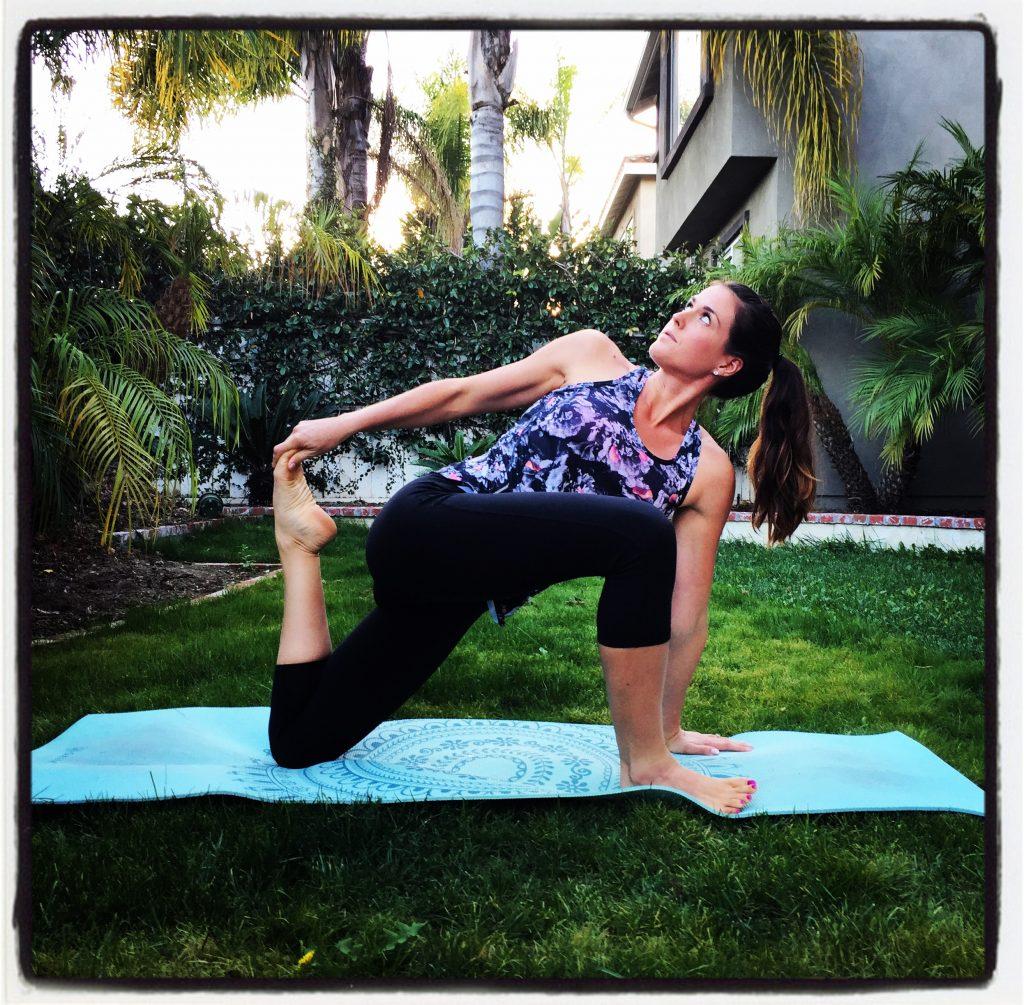 yoga challenge fitness blog