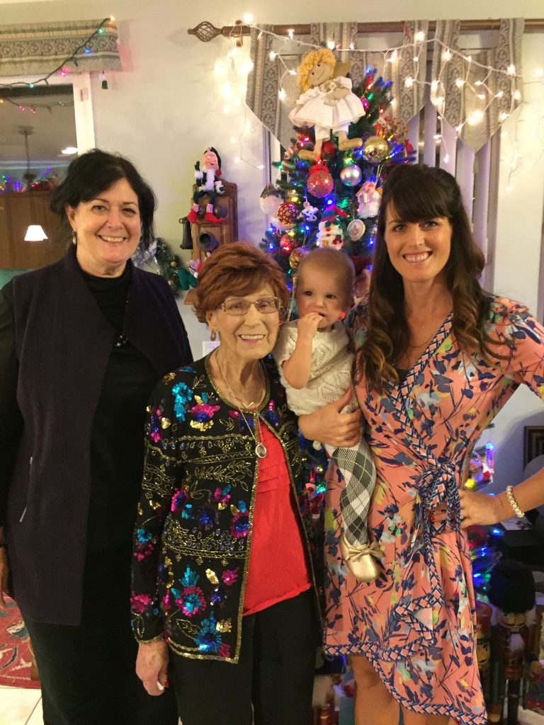 4 Generations on Christmas Day