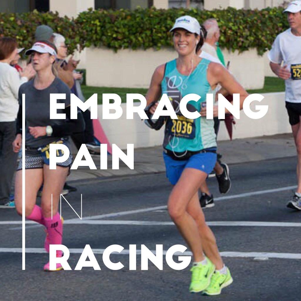 how to deal with pain in marathon running