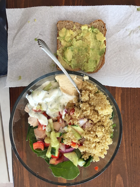 quinoa chicken salad 21 day fix