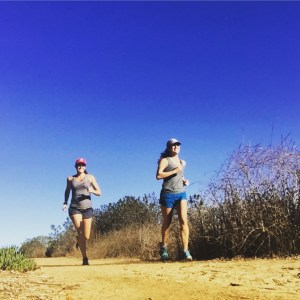 Running while pregnant with twins
