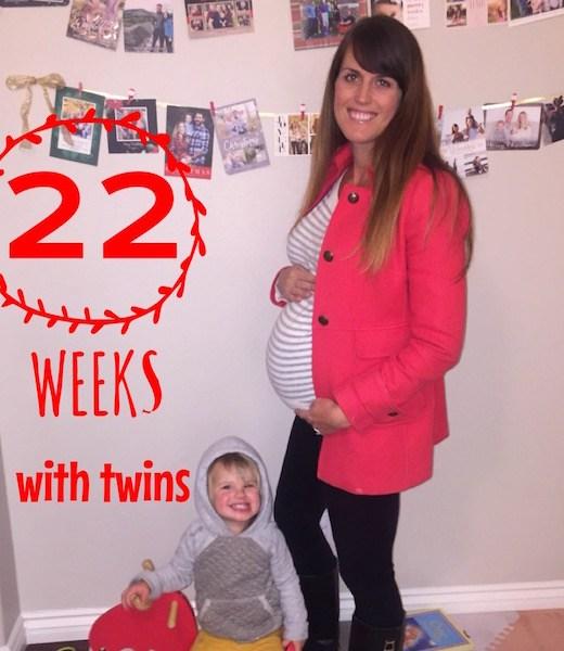 22 weeks pregnant belly