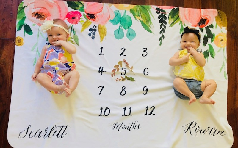 Dear Scarlett & Rowan – 5 Month Old Twins