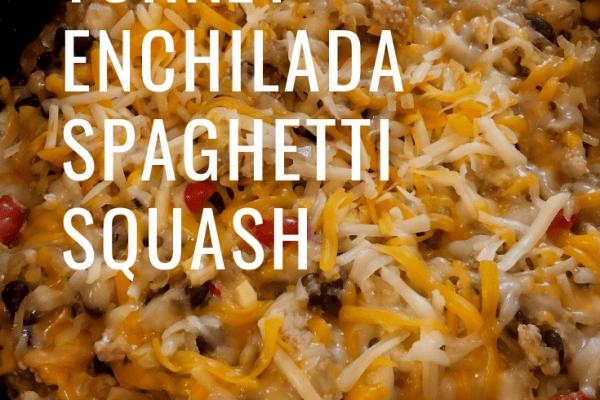 Turkey Enchilada Spaghetti Squash