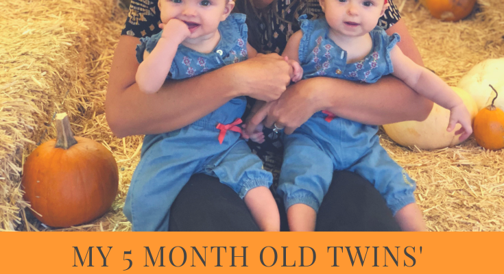sleep schedule for 5 month old twins