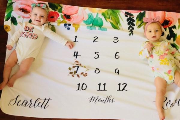 Dear Scarlett & Rowan – 7 Month Old Twins