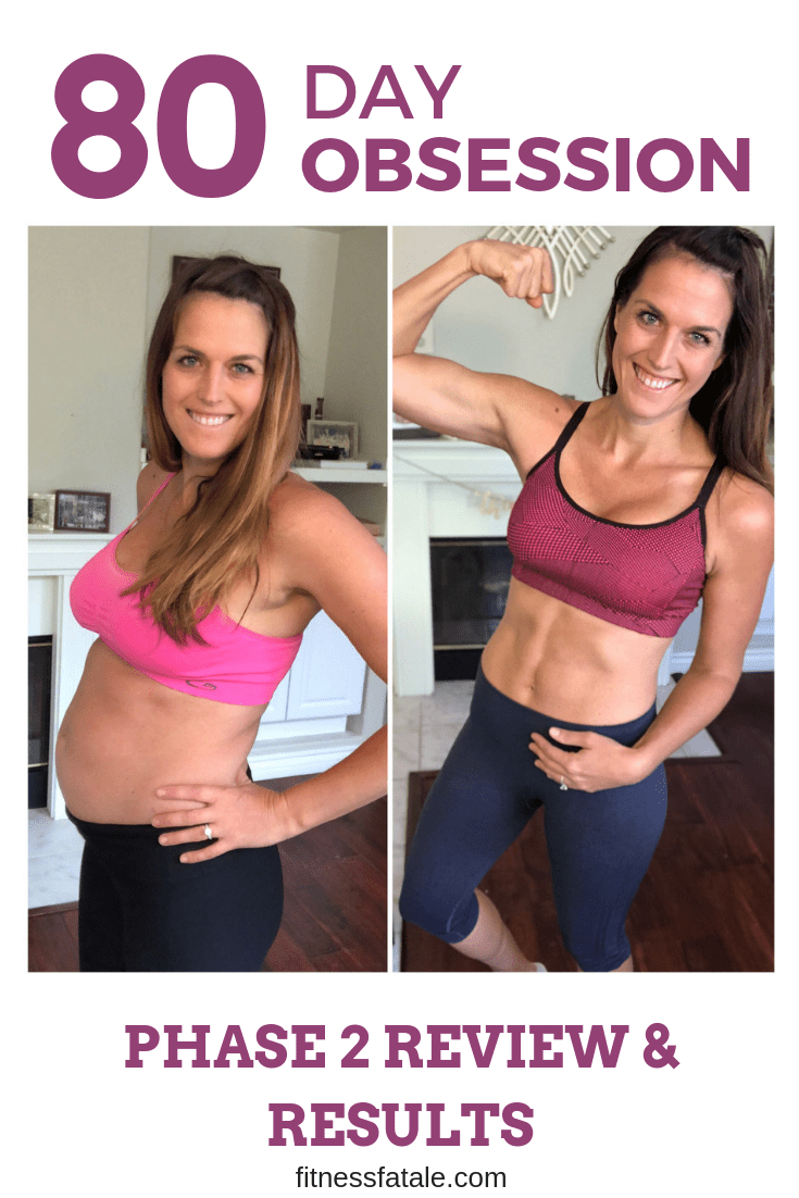 80 Day Obsession 80 day obsession & running – phase 2 review and results