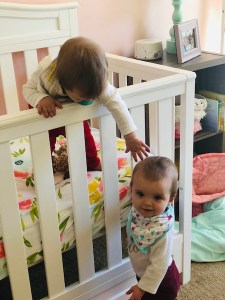 Twin sisters 7 months old