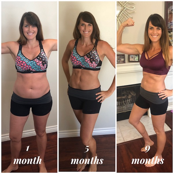 9 Month Postpartum Progression Using 21 Day Fix, LIIFT4 and 80 Day Obsession