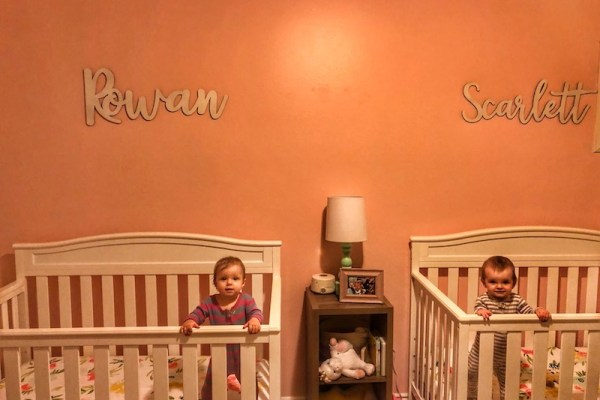 Dear Scarlett and Rowan – 9 Month Old Twins