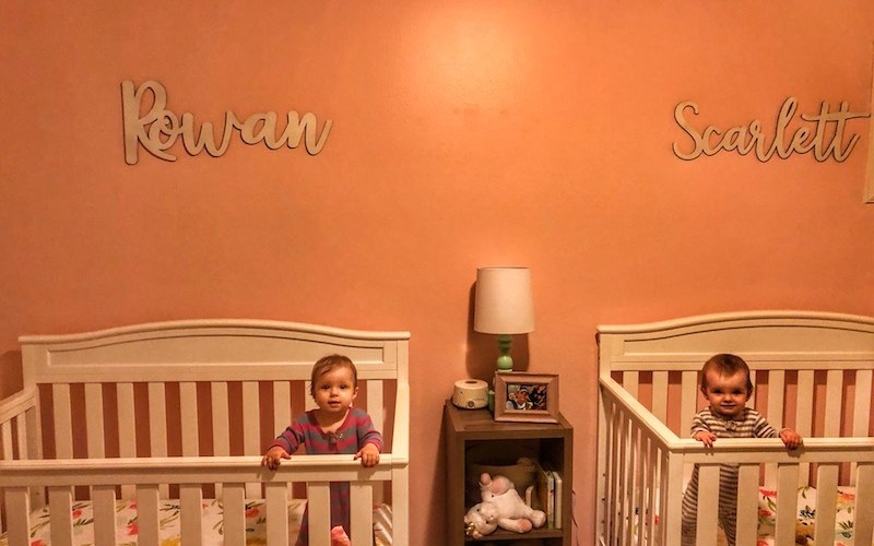 Dear Scarlett and Rowan – 9 Month Old Twins