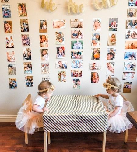 Dear Rowan and Scarlett – 1 Year Old Twins